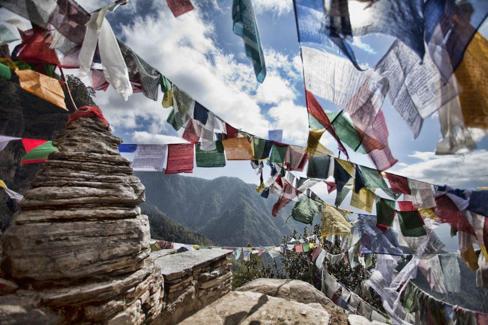 2_Prayer Flags at Tiger's Nest