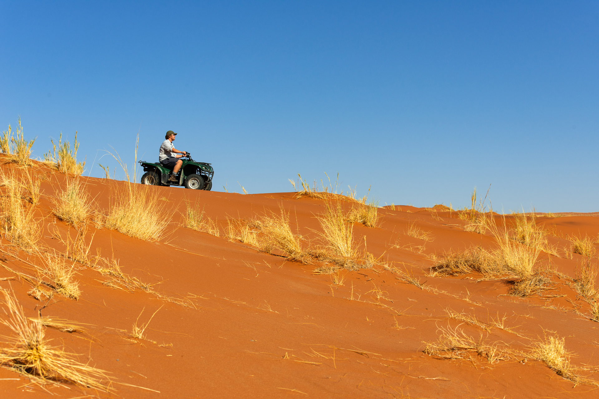 Quad Biking over Namibia's Ancient Dunes:
