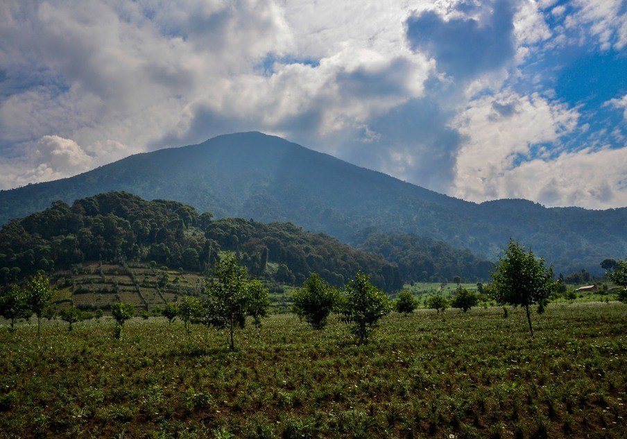 Climbing in Volcanoes National Park