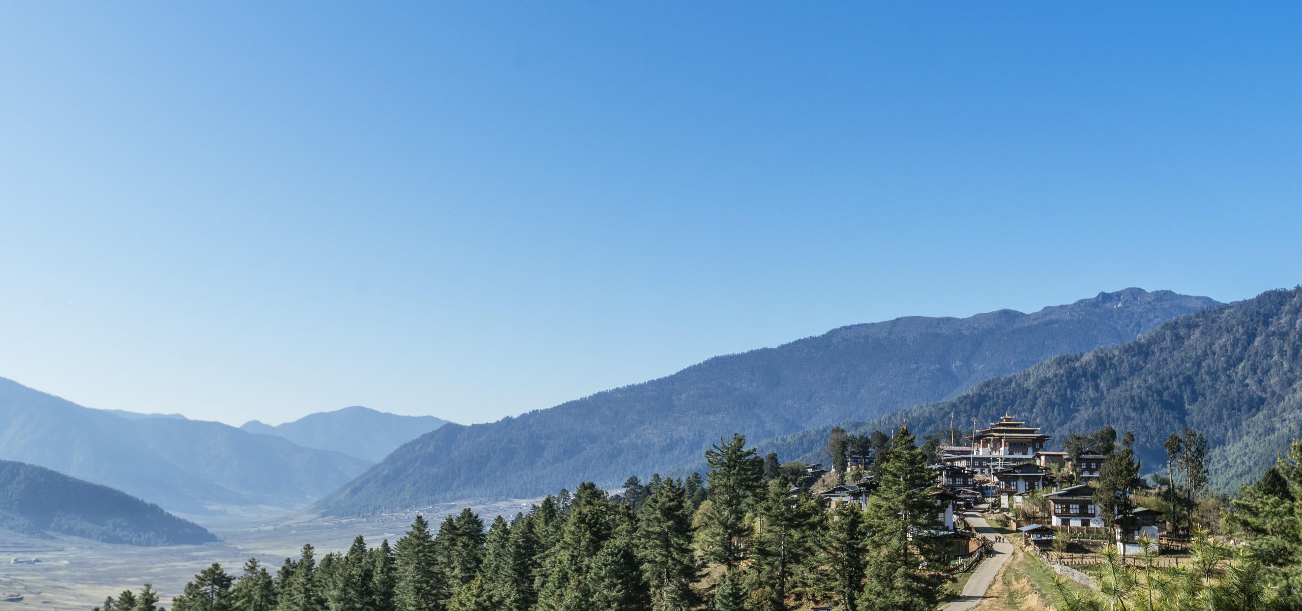 Bhutan - Gangtey