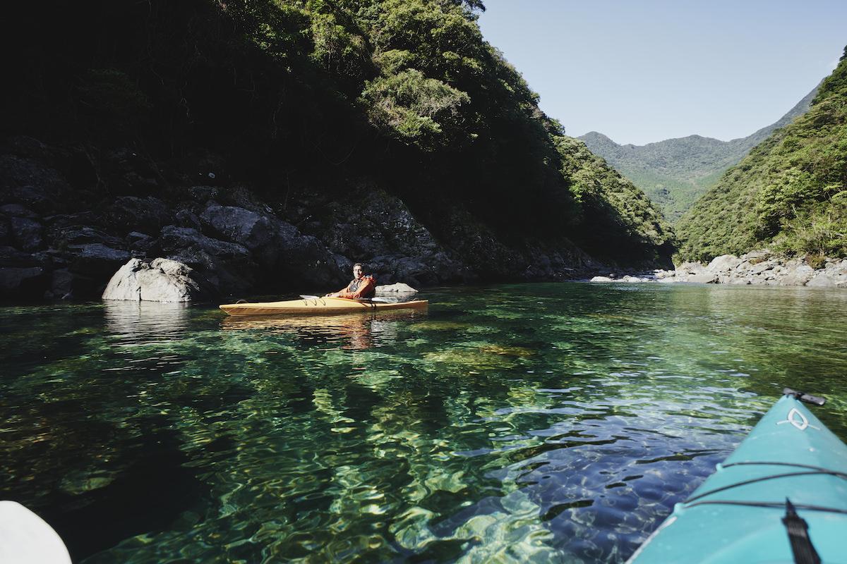 Kayaking Anbo River