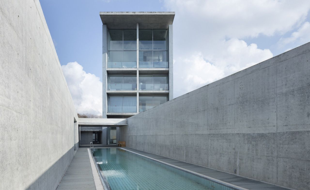 Tadao Ando's, Setouchi Retreat Aonagi