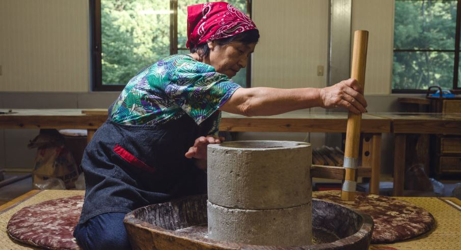 Take a Class in Traditional Soba Making