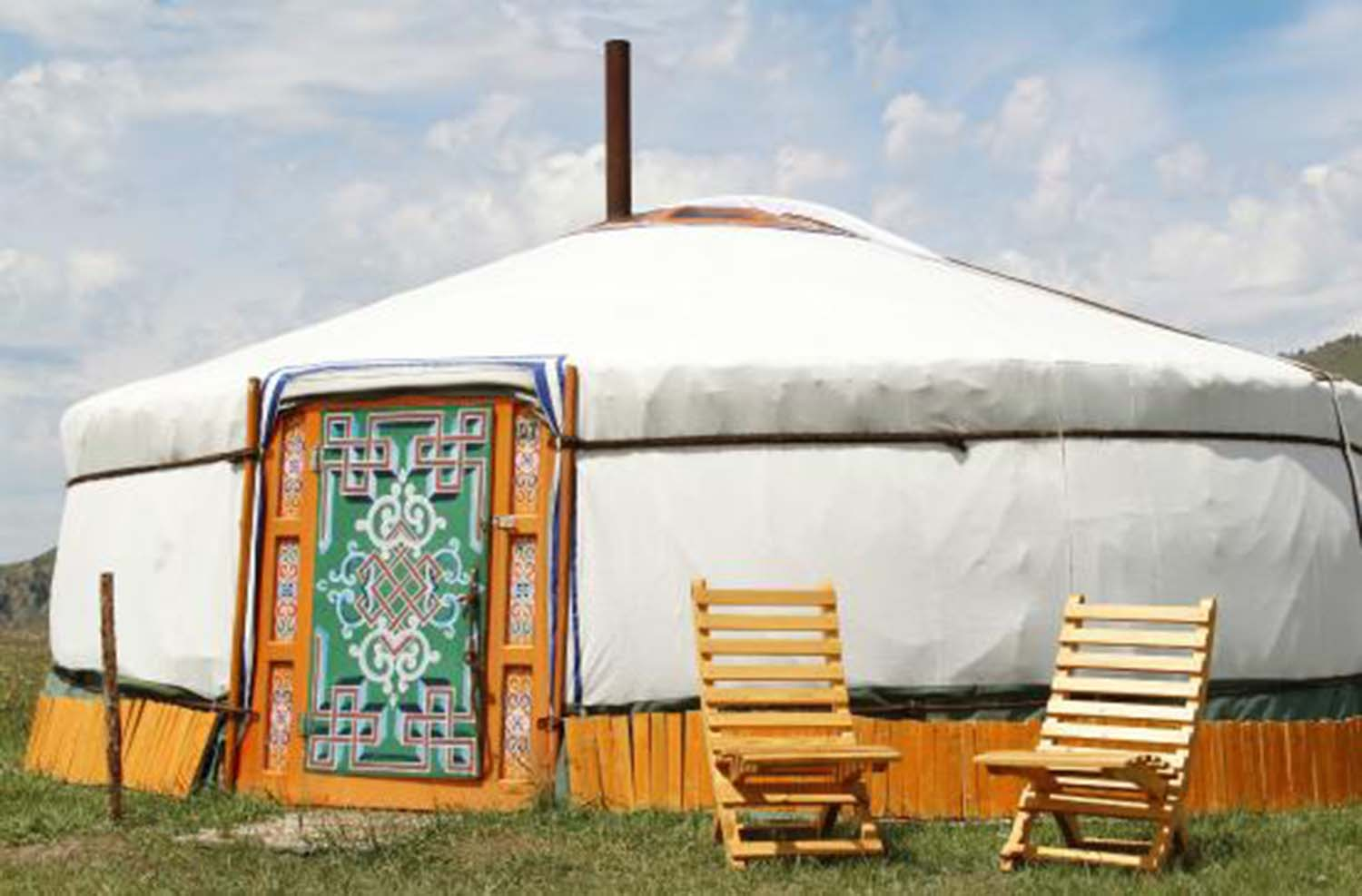 Stay in a Private Ger Camp