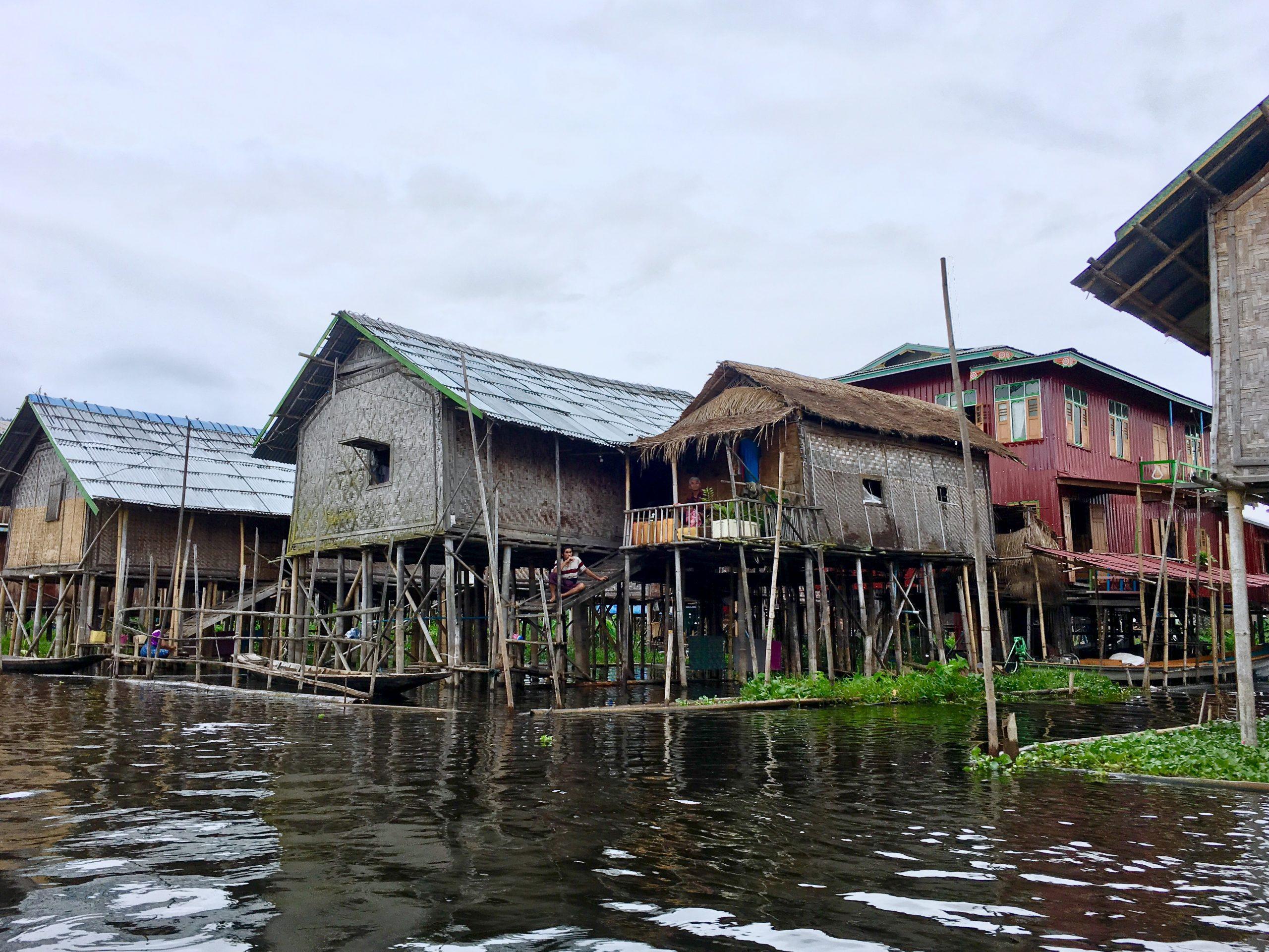 Canoe Towards Nam Pan Village