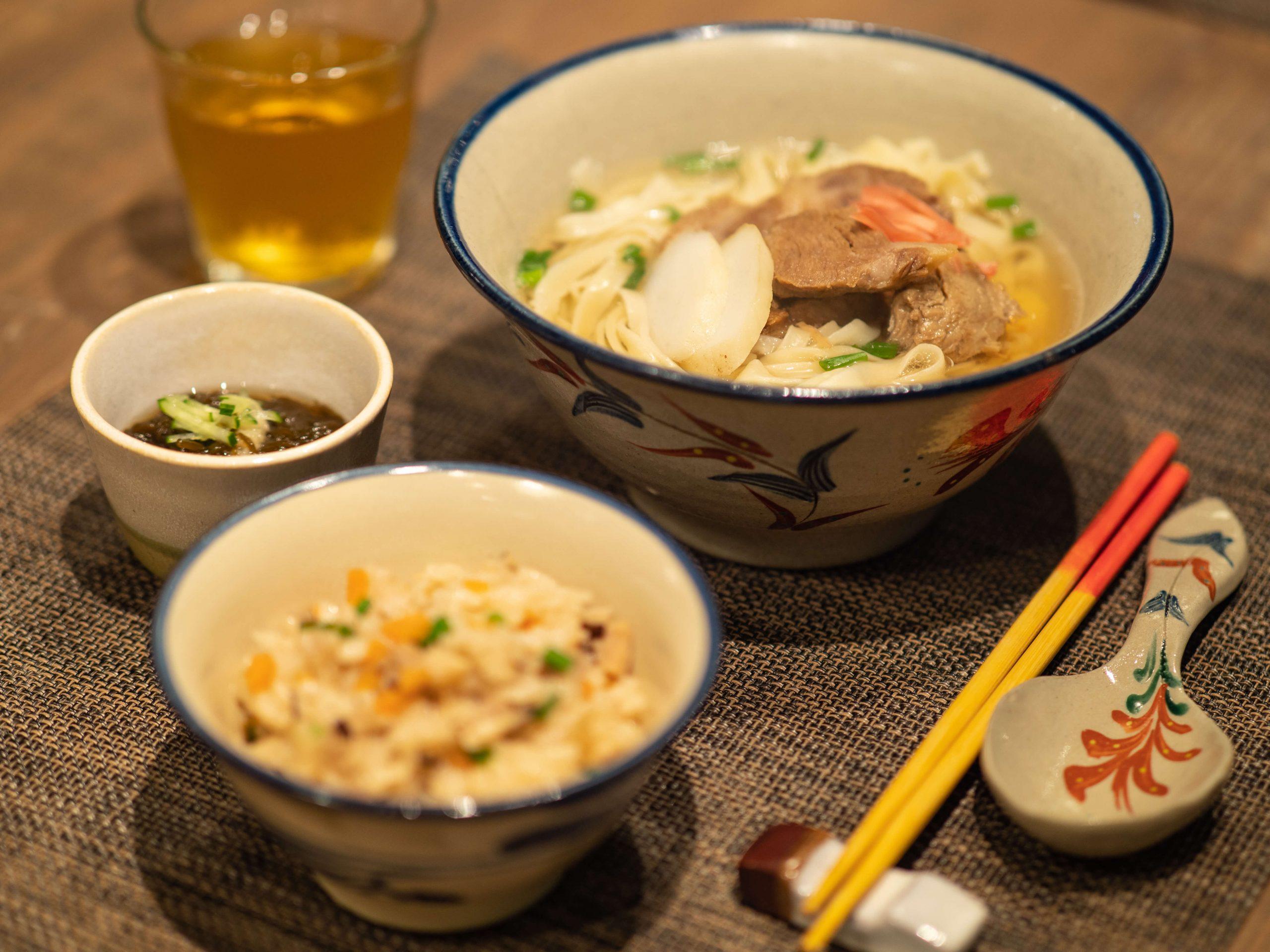 Enjoy Okinawan Cuisine