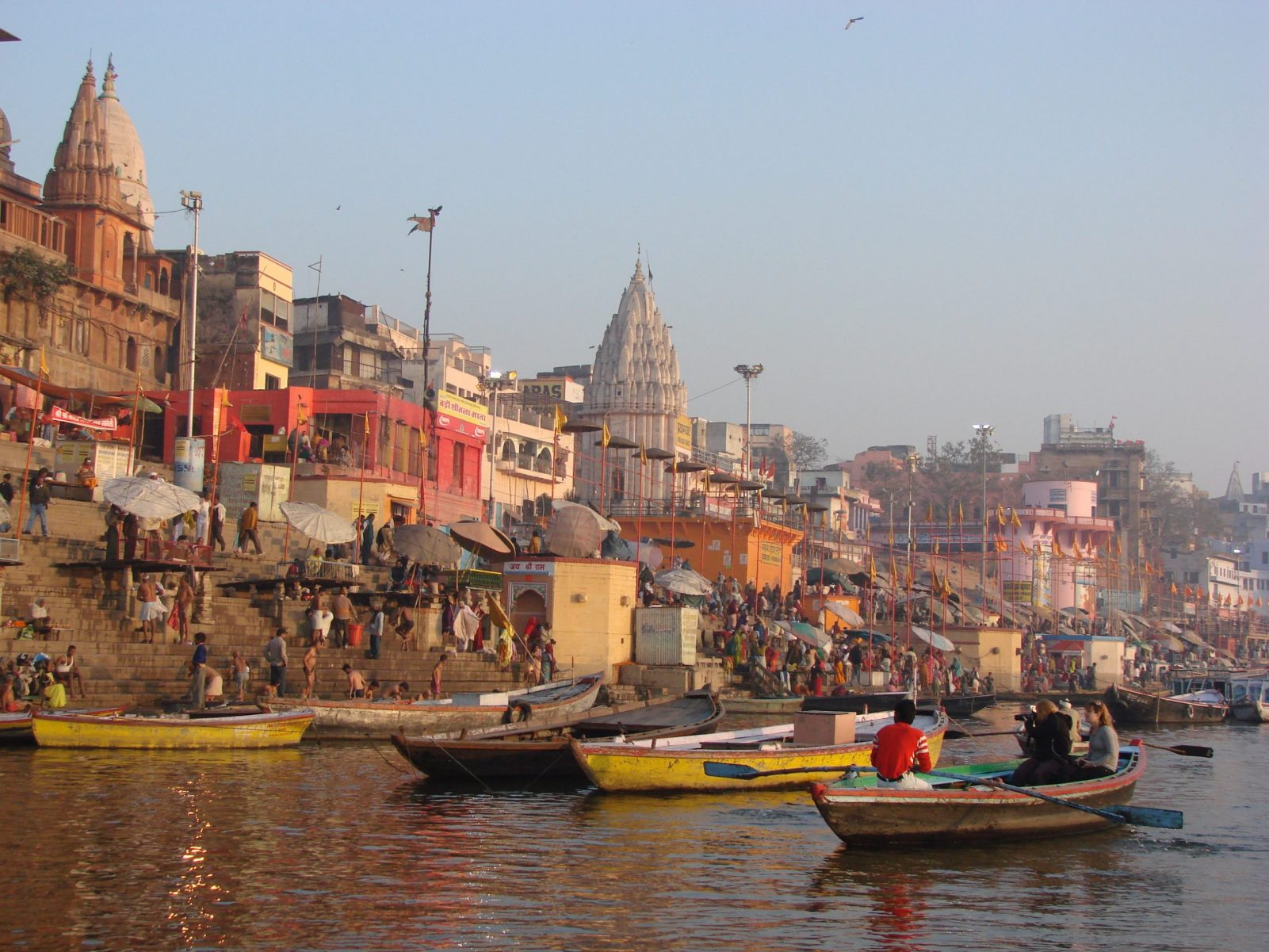 The Holy City of Varanasi