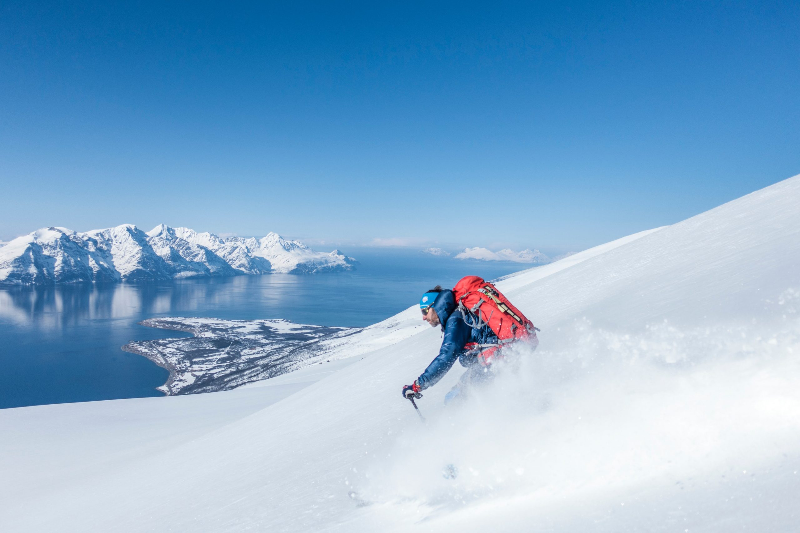 Ski from Mountain to Sea in the Lyngen Alps