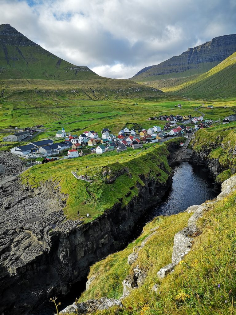 Faroe Islands Gjogv