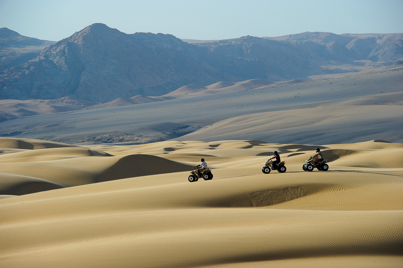 Quad Biking over Namibia's Ancient Dunes