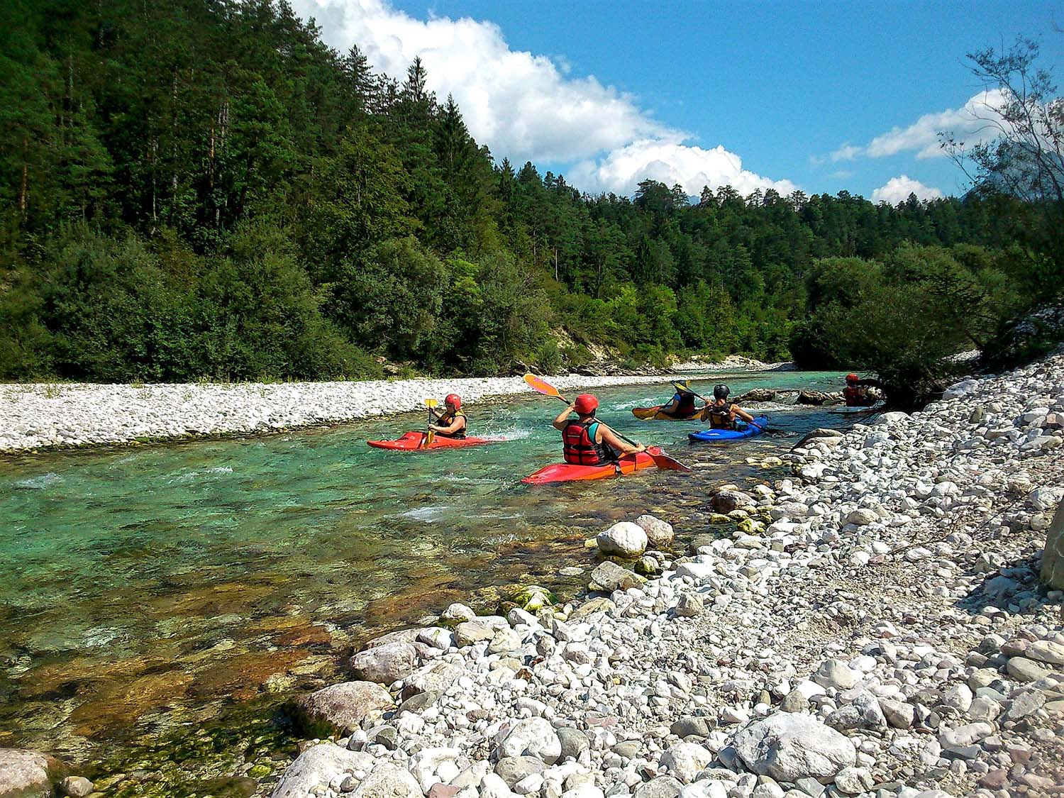 Explore the River Soča