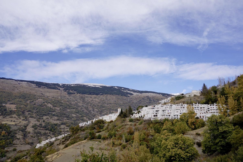 Spain Andalusia Alpujarras Capileira Village