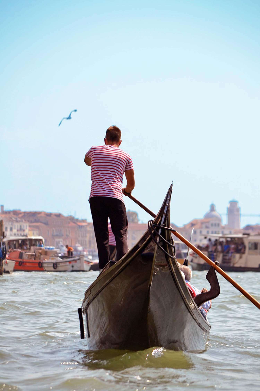 Row in a Venetian Boat