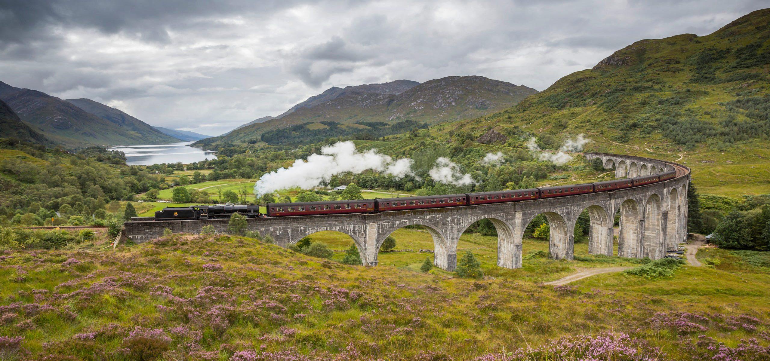 Scotland - Steam Train