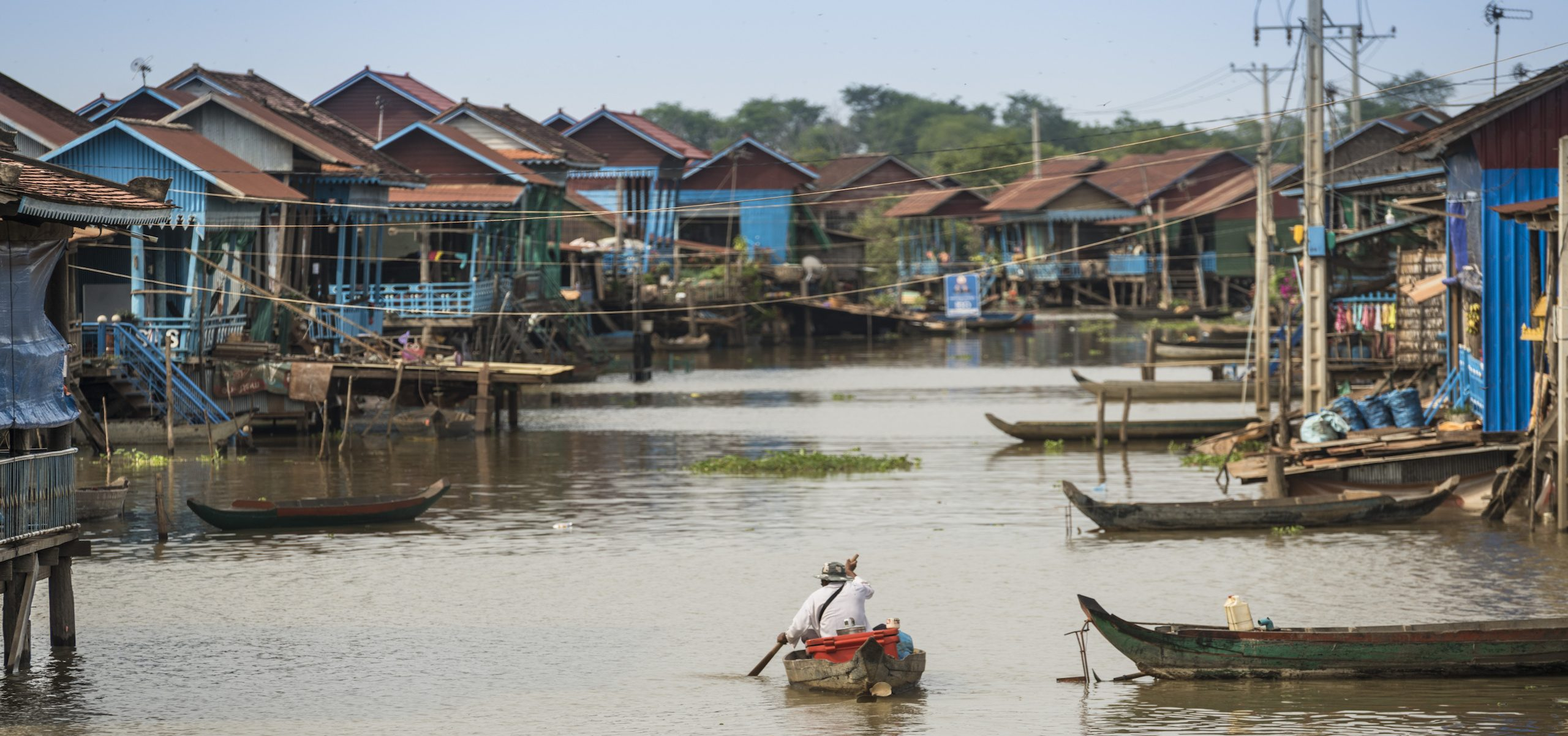 Amansara, Siem Reap, Cambodia, destination, activities, Tonle Sap, boats, floating villages, stilted villages