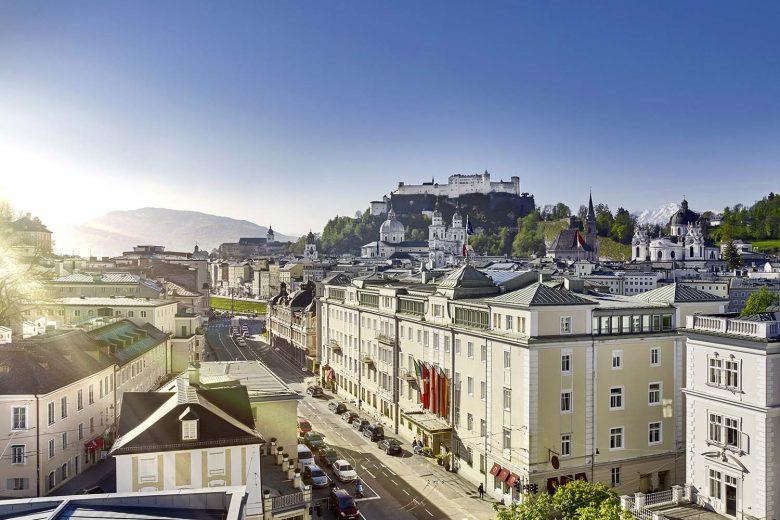 Austria-Salzburg-Hotel Sacher