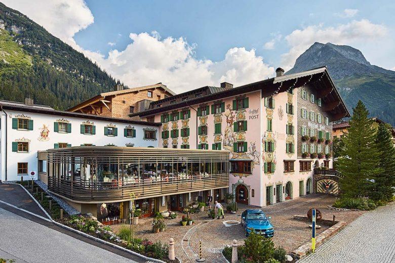 Austria-Lech-Post Lech Arlberg