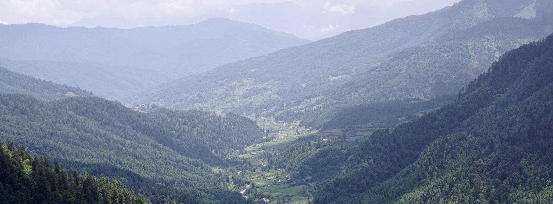 Bhutan Bumthang Tang Valley Thowadrak Monastery