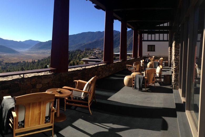 Bhutan_Gangtey_Gangtey Lodge_Aerial