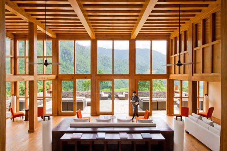 Bhutan_Punakha_COMO Uma Punakha_Restaurant 2