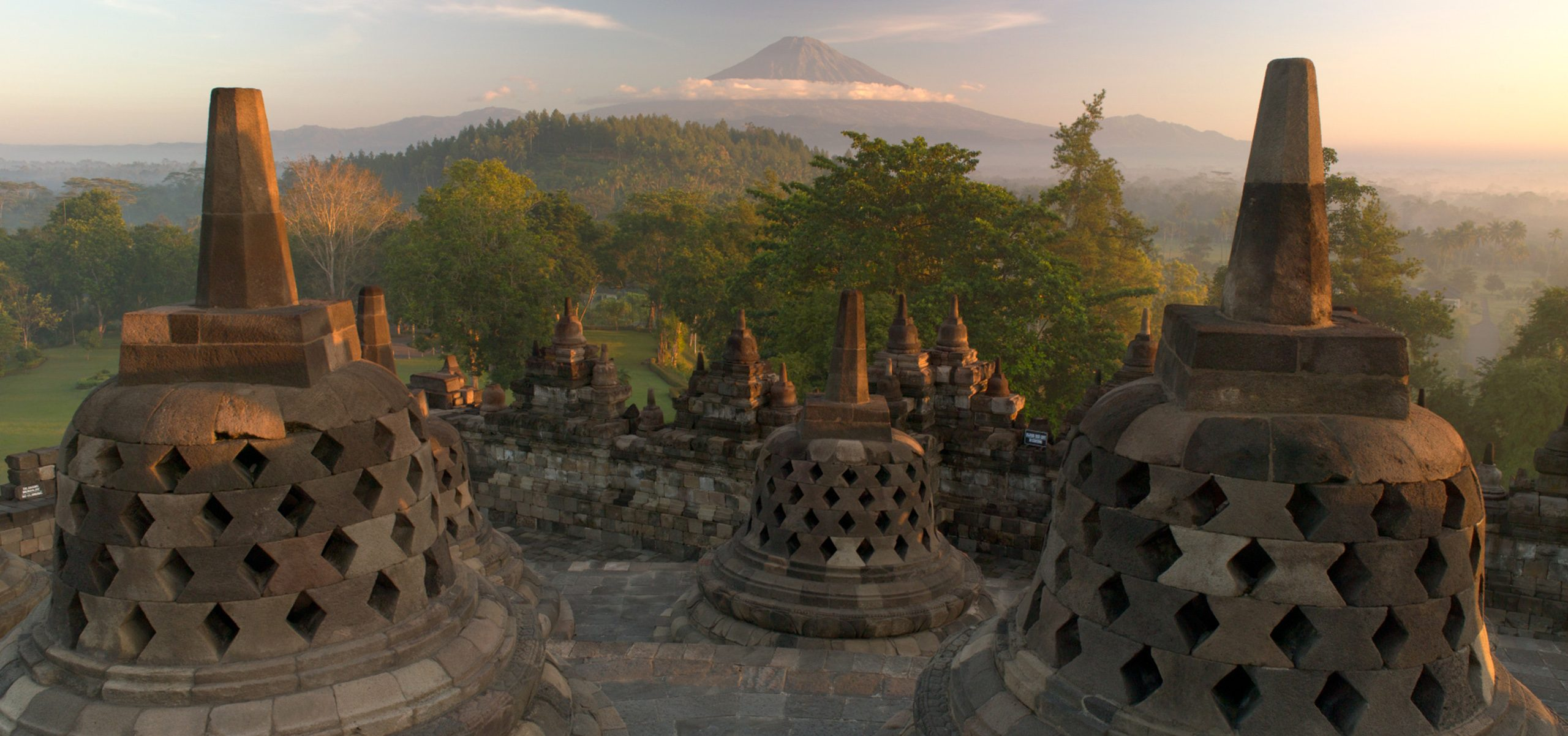 Indonesia-Borobudur Sunrise