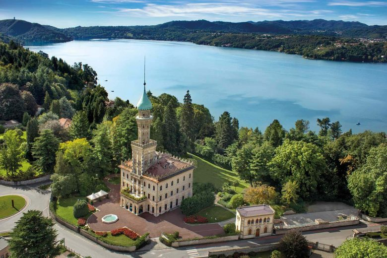 Italy-Lake Orta-Villa Crespi