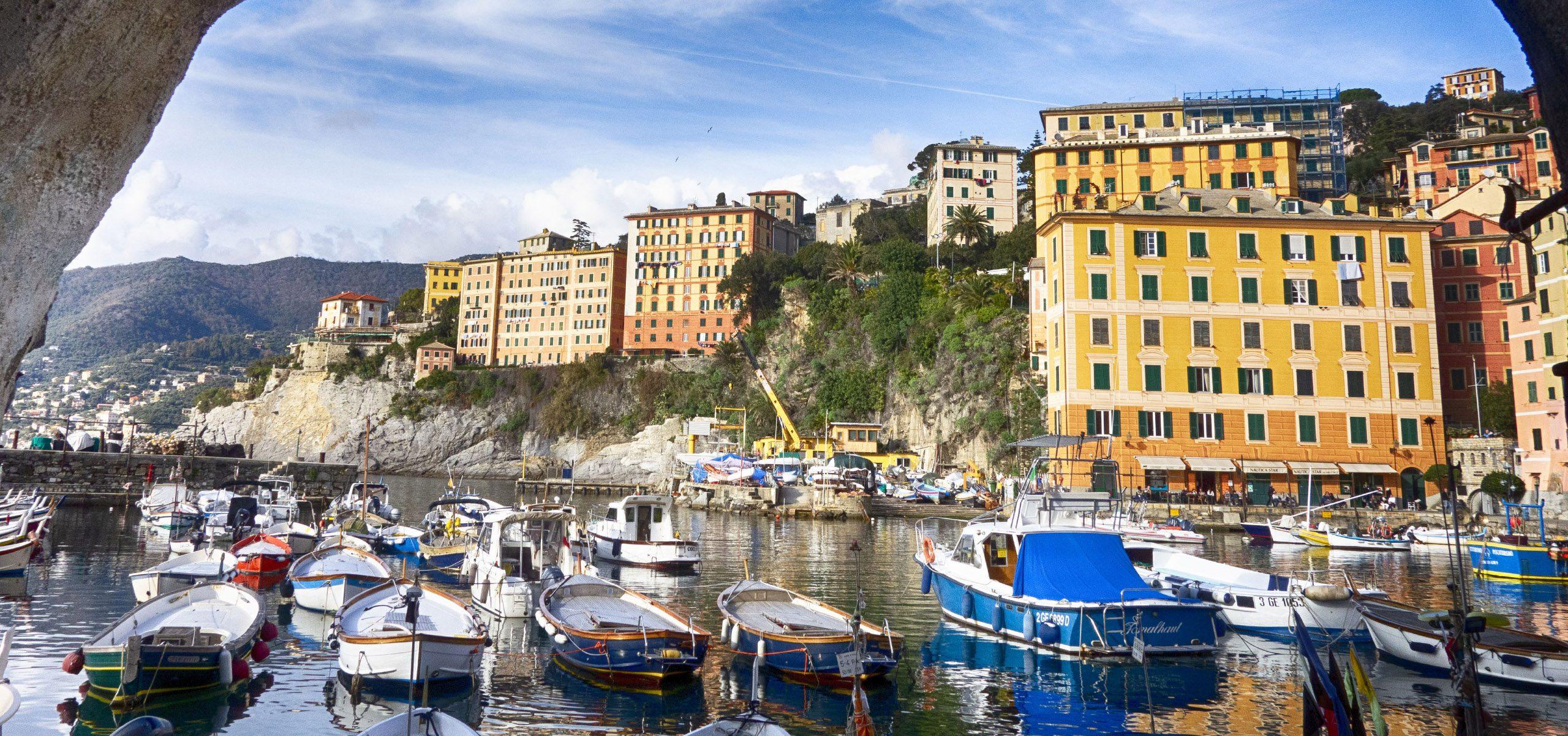 Italy-Liguria Coast- Camogli