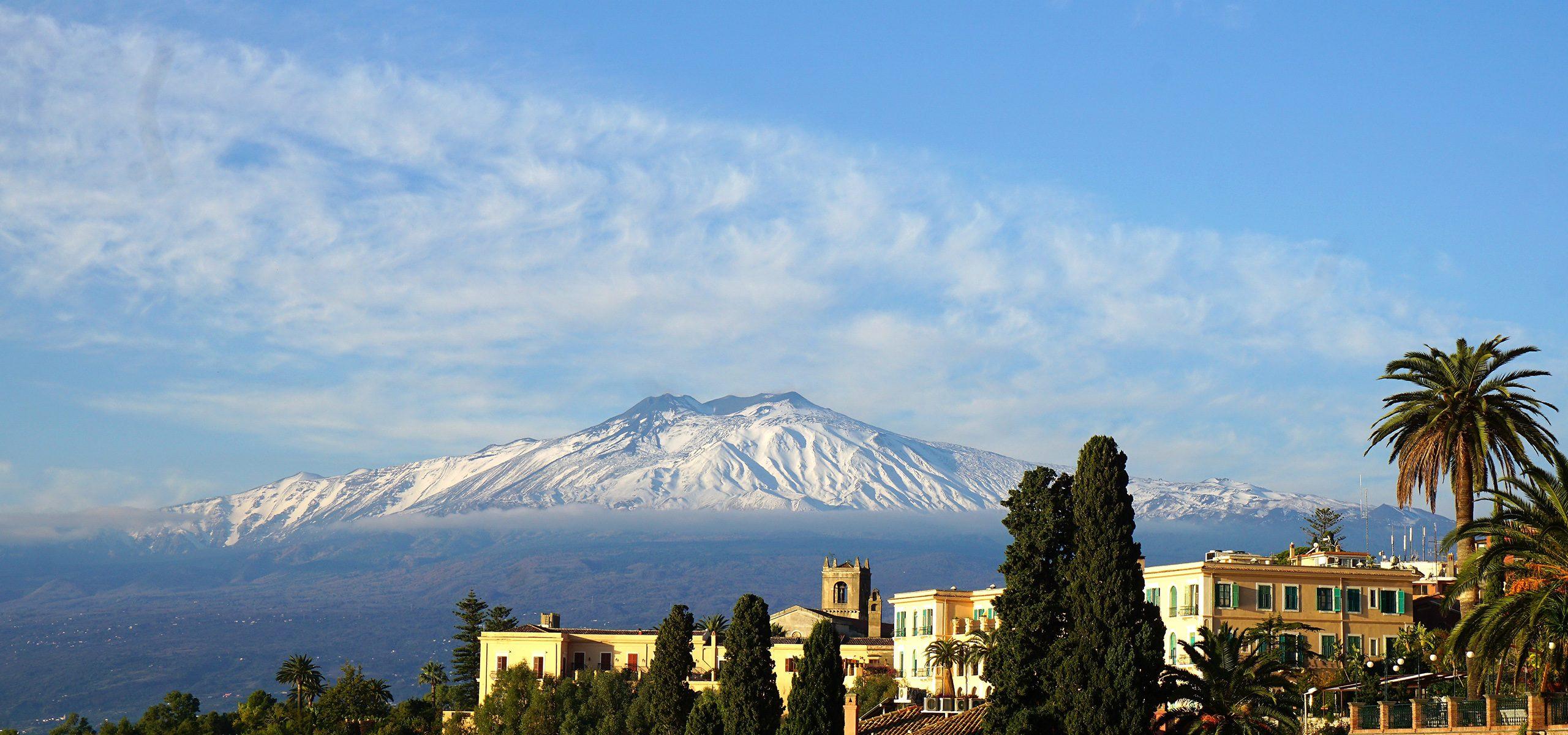 Italy-Sicily Etna Mountain