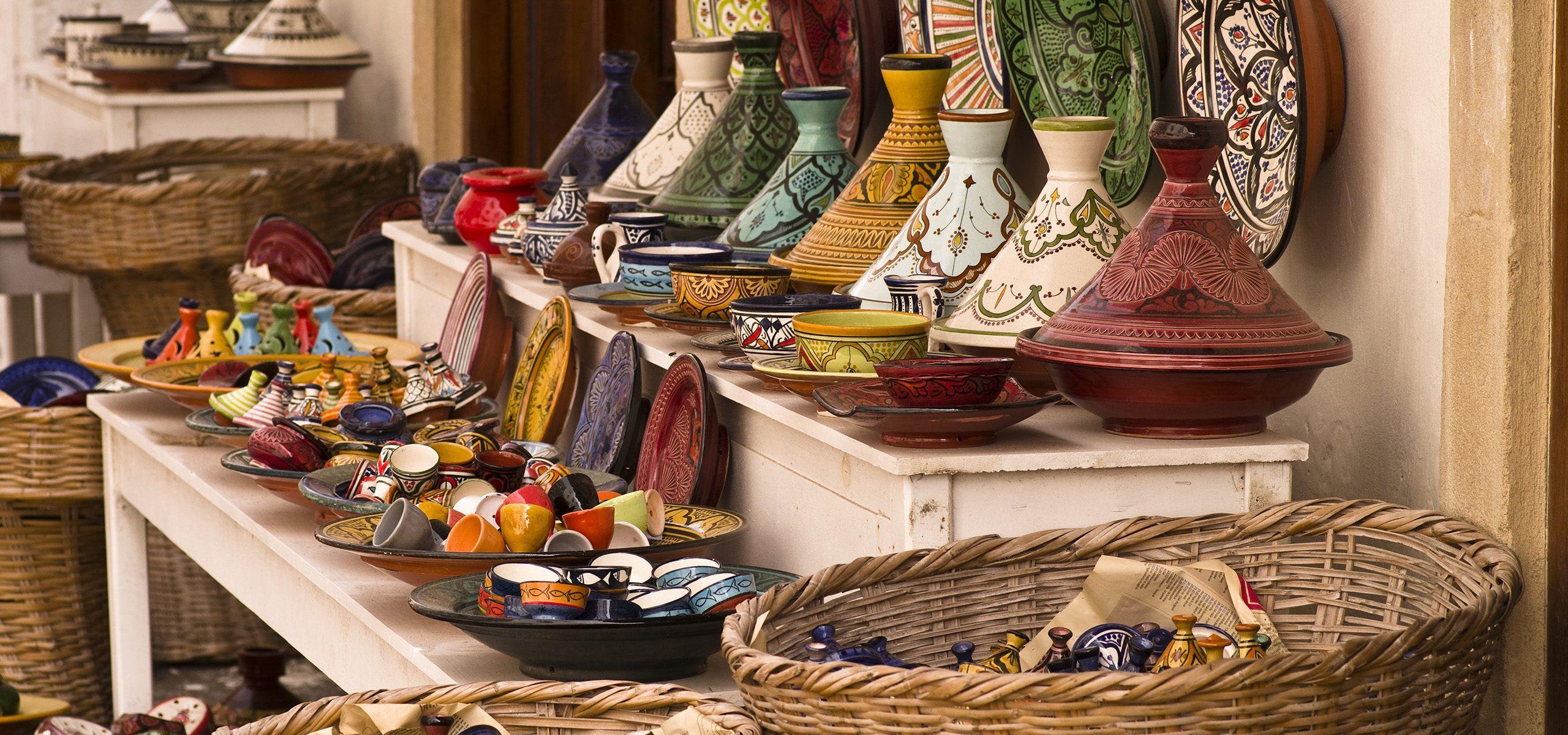 Morocco-Souq Pottery