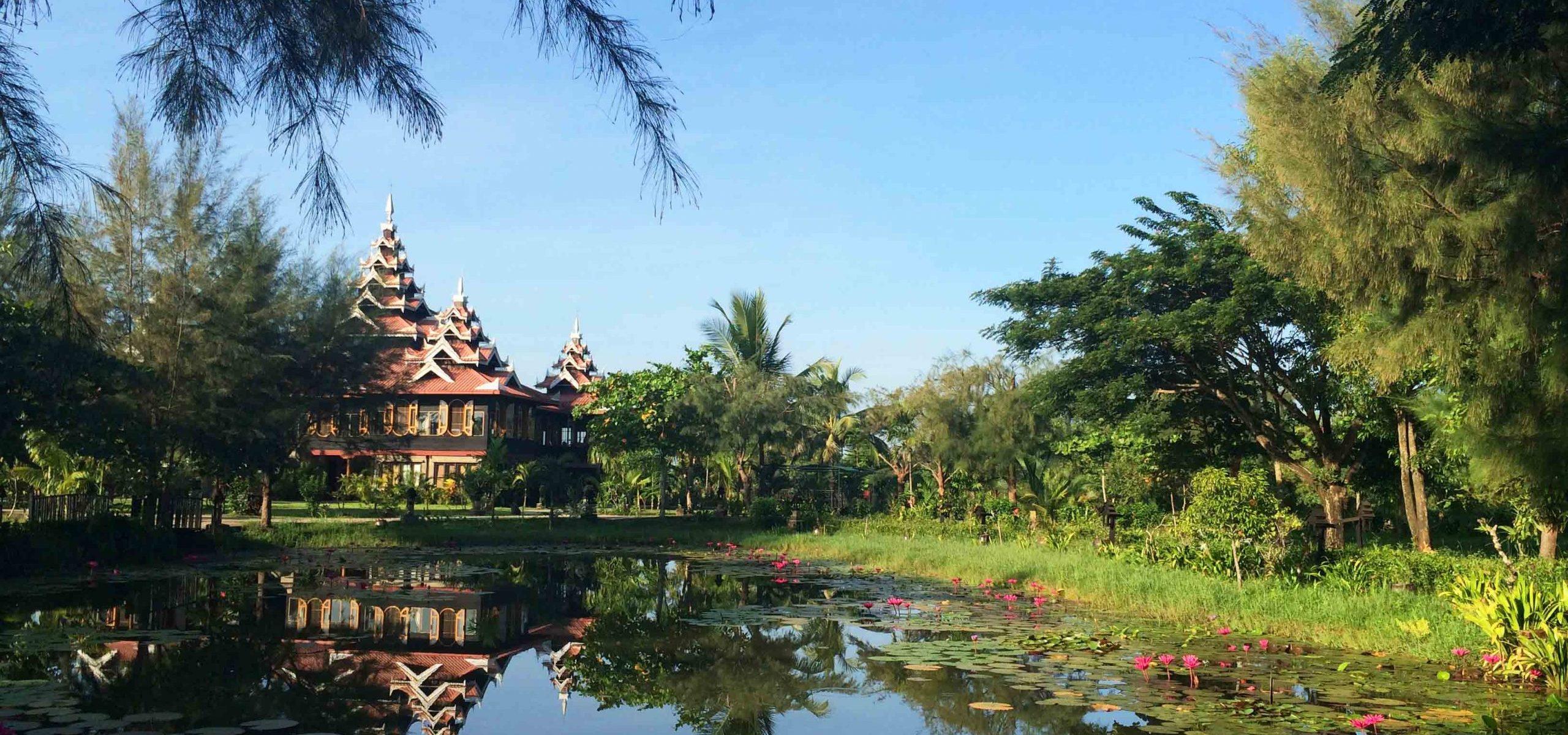 Myanmar_Mrauk U_Mrauk u Princess Resort