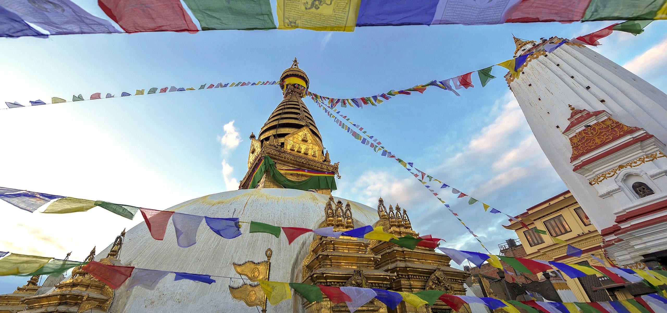 Nepal-Kathmandu-Stupa