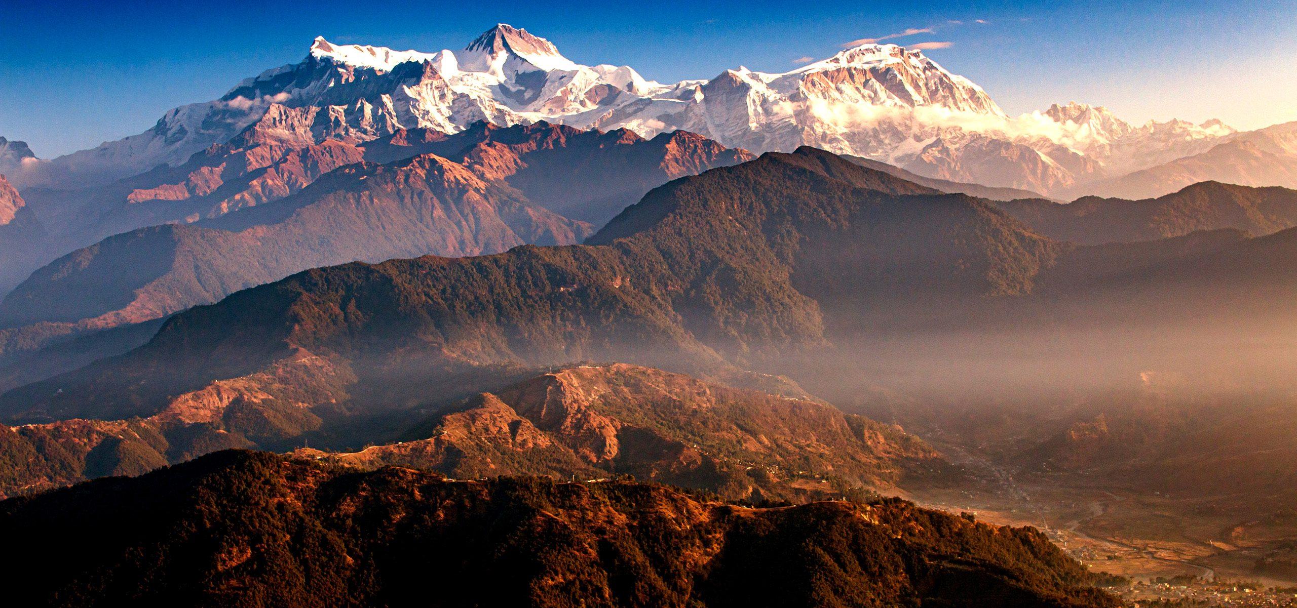 Nepal-Pokhara Himalaya