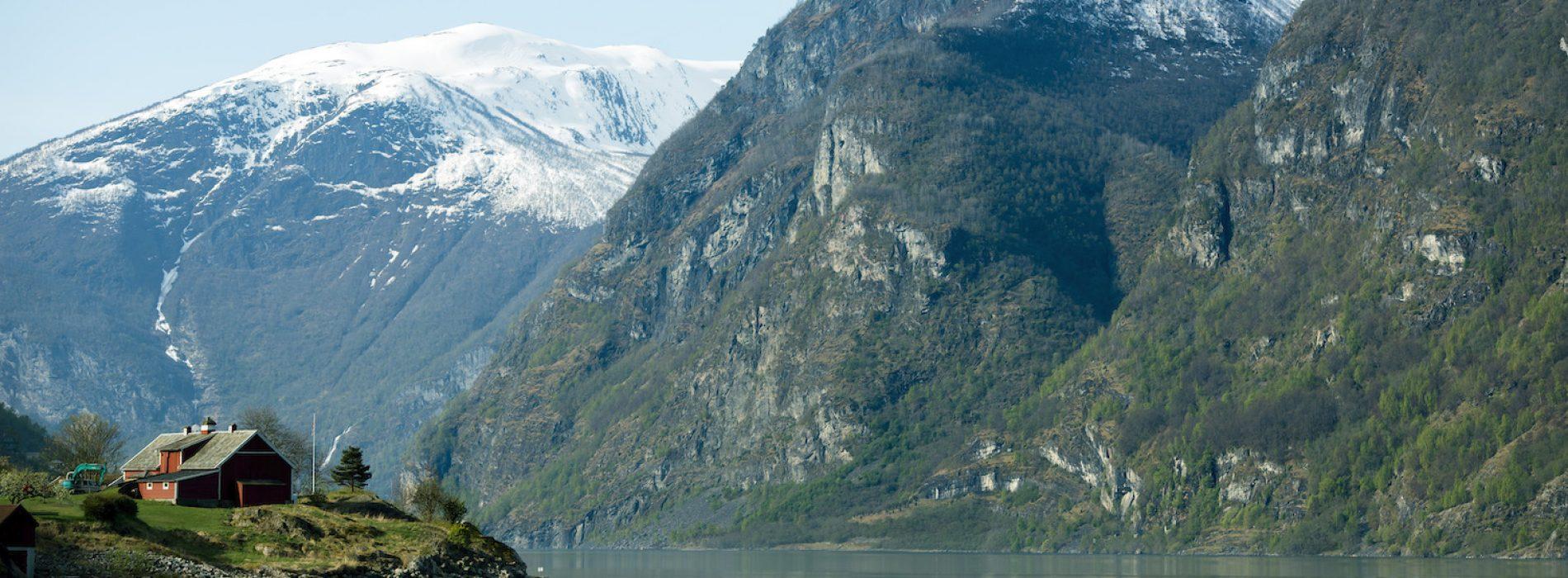 Norway Aurland Fjord