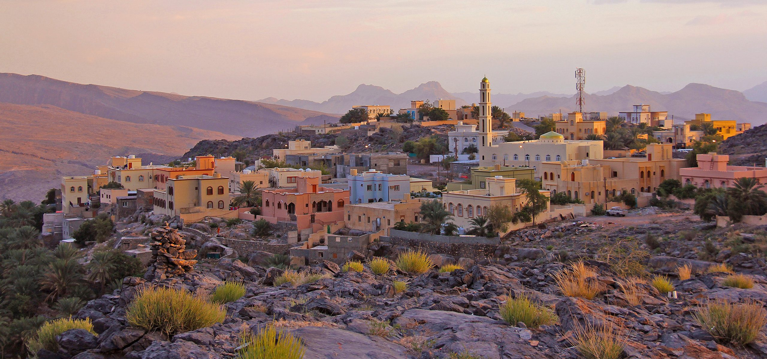 Oman-Nizwa Sunset