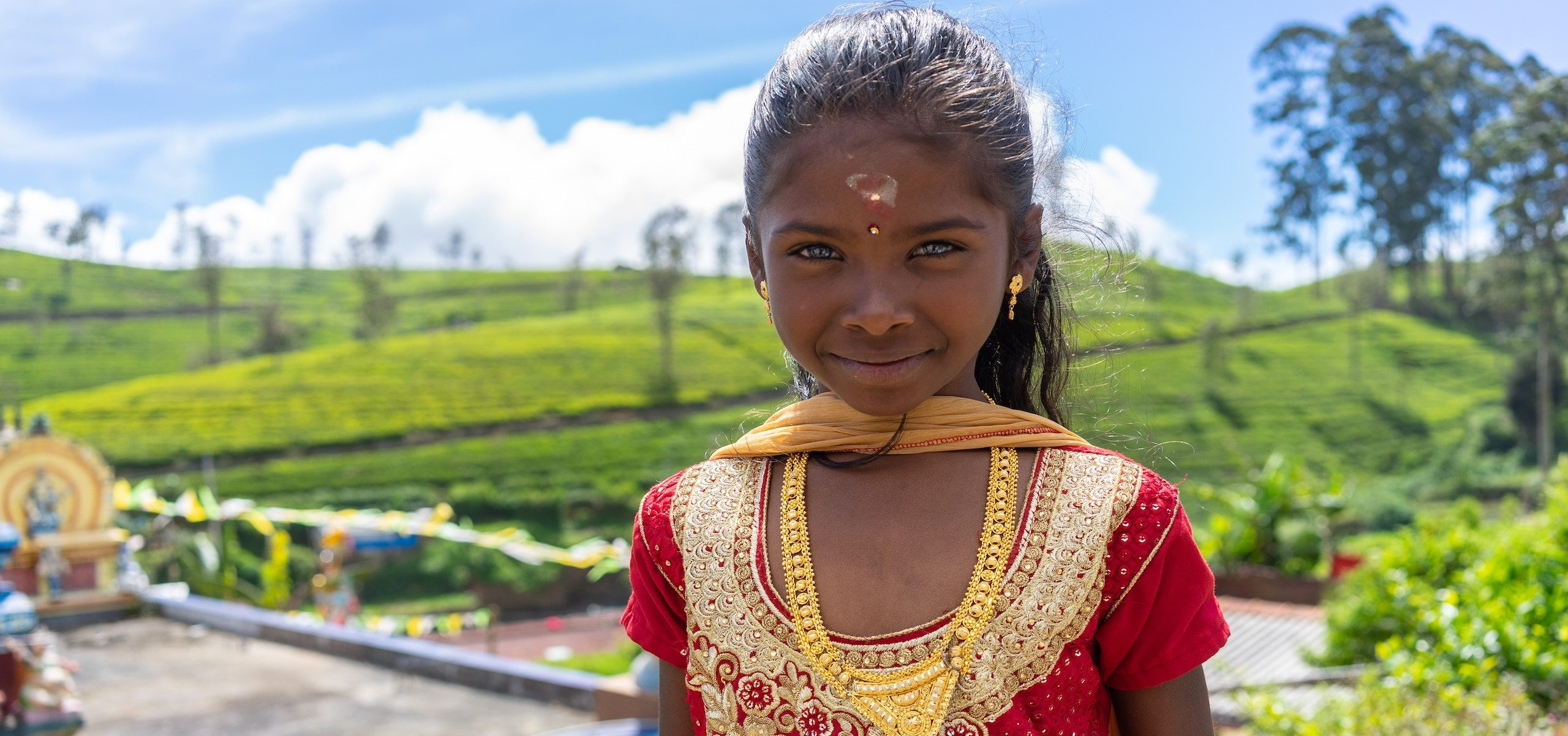 Sri Lanka_Girl in Tea Country