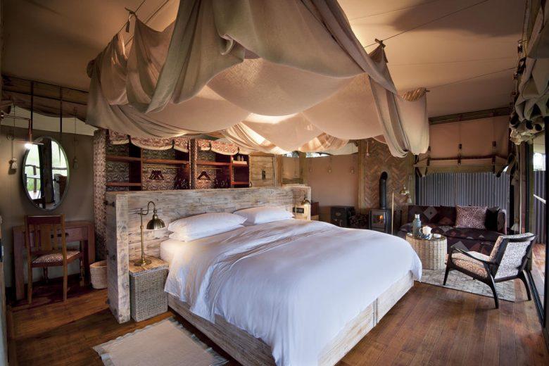 Zimbabwe_Somalisa Camp Bedroom