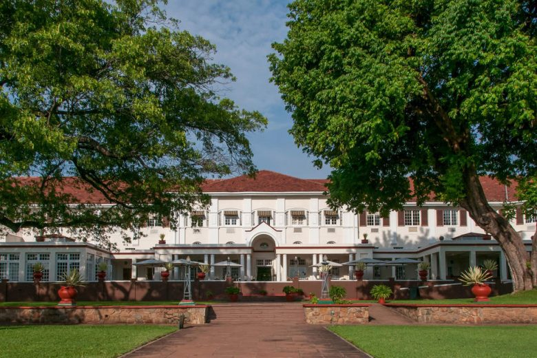 Zimbabwe_Victoria Falls Hotel Front View