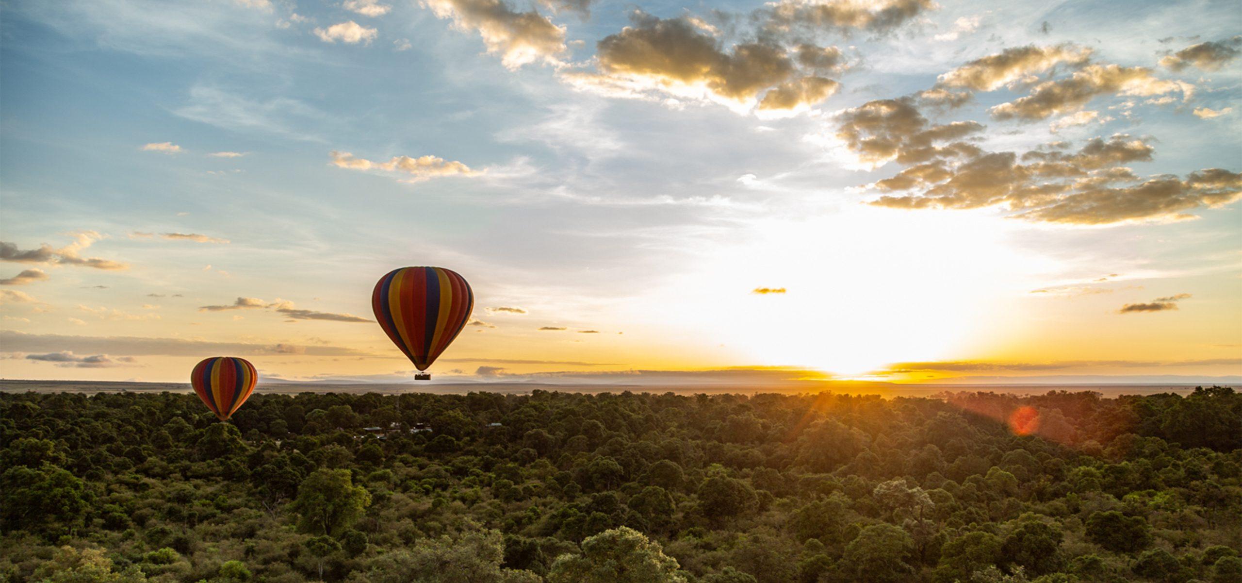 Kenya - Maasai Mara - Hit Air Ballooning